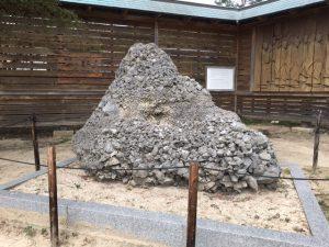 出雲大社のさざれ石